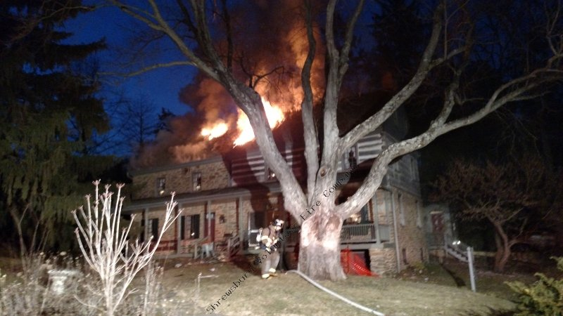 Structure Fire – Seaks Run Rd