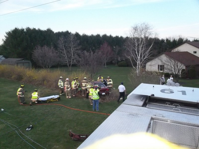 Accident with Entrapment in Hopewell Township