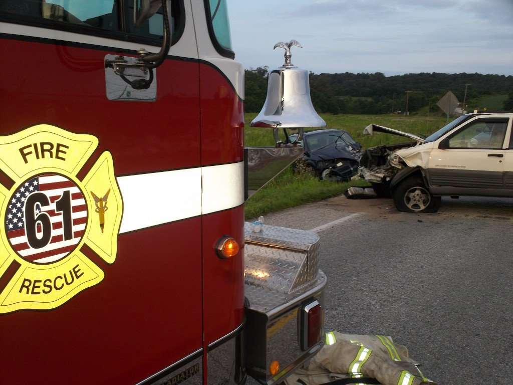 3 Vehicle Accident with Entrapment