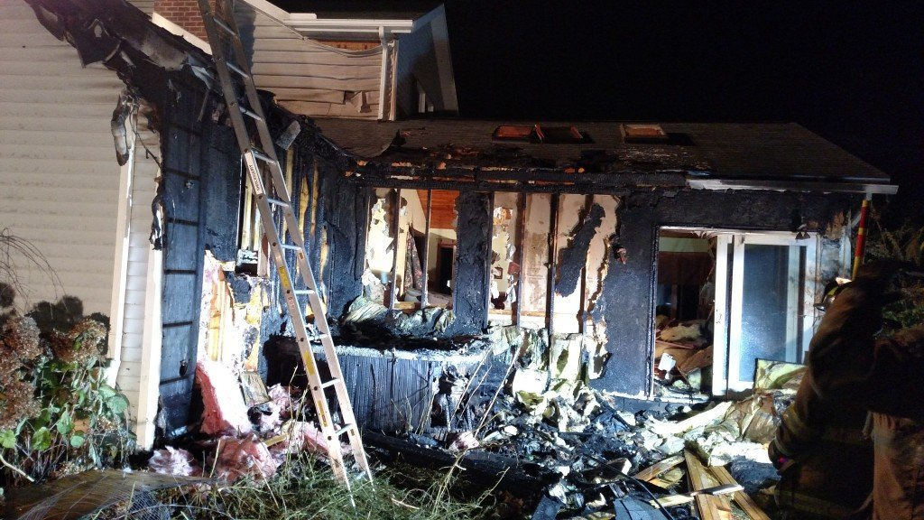 First Due House Fire