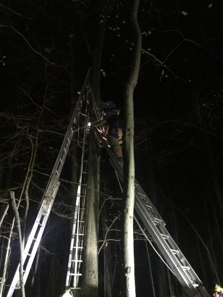 High Angle Rescue in Baltimore County