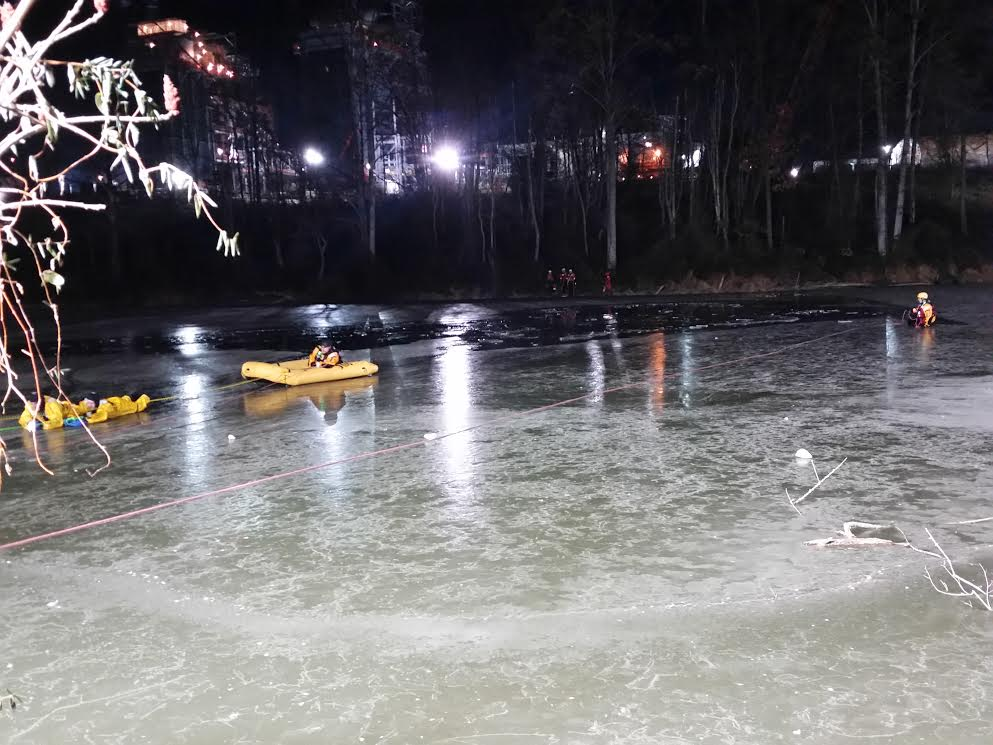 Ice Rescue Incident in Peach Bottom Township