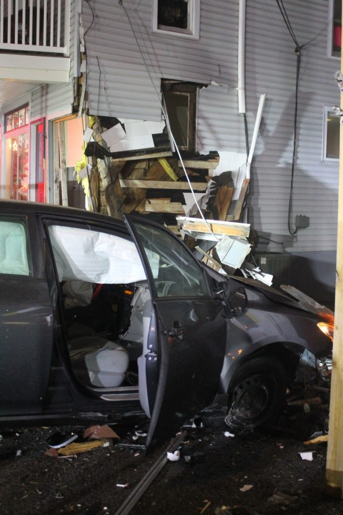 Vehicle into a Structure in Shrewsbury Borough