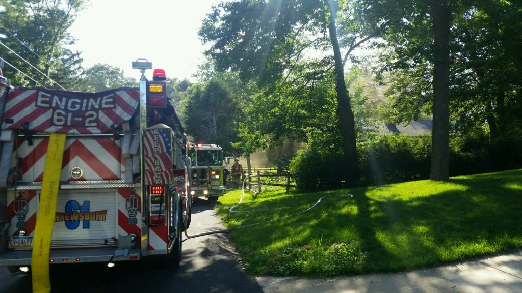 Working Fire in Shrewsbury Township