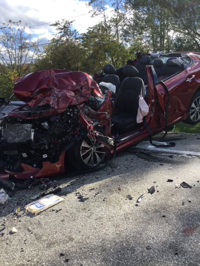 Double Entrapment MVC in Hopewell Township