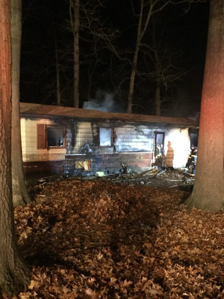Structure Fire with Multiple Entrapment in Shrewsbury Township