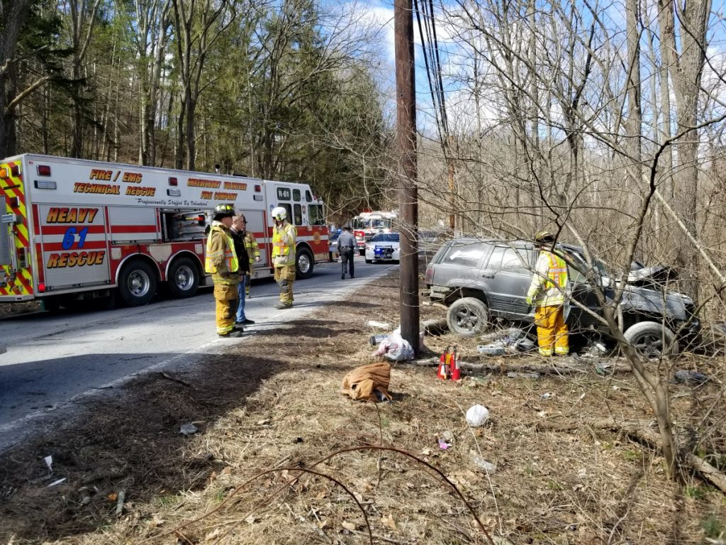 Accident with Ejection in Shrewsbury Township
