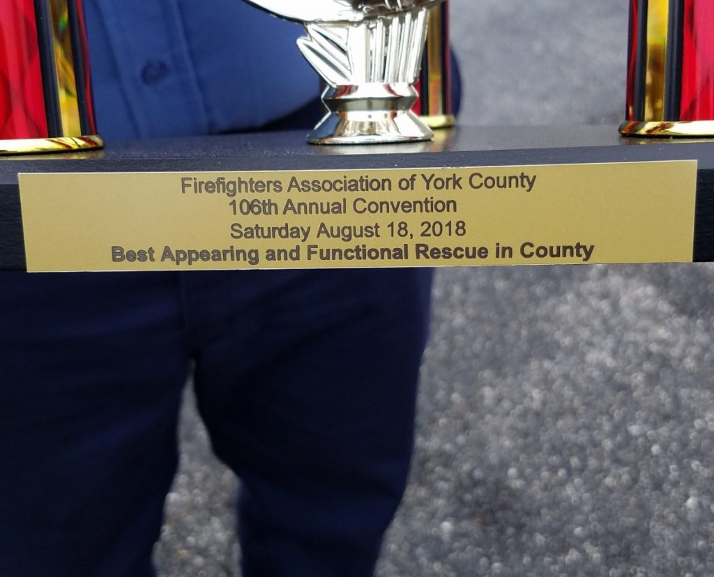 RESCUE 61 WINS BEST APPEARING AND FUNCTIONAL RESCUE