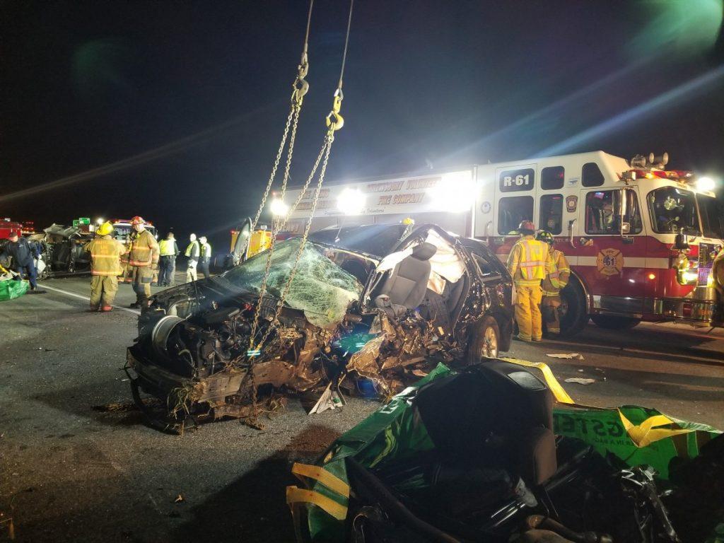 MULTI FATAL ENTRAPMENT ON I-83 IN BALTIMORE COUNTY