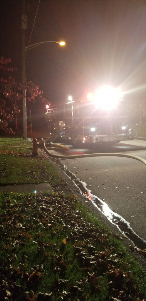 REPORTED STRUCTURE FIRE IN NEW FREEDOM