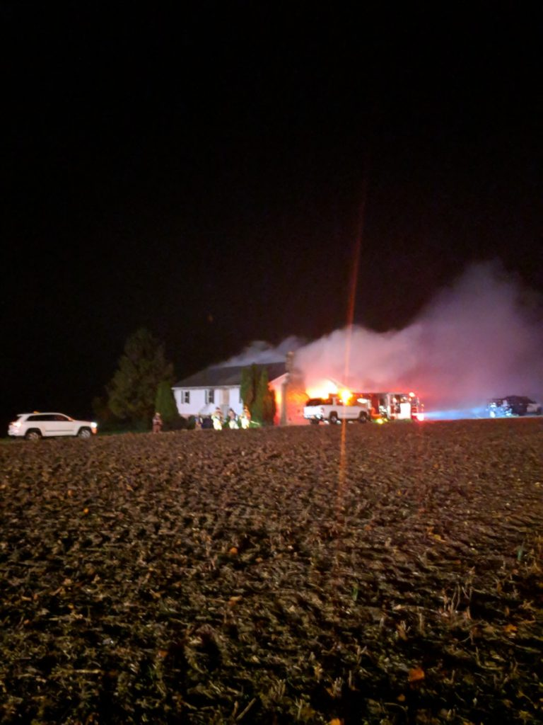 WORKING FIRE IN BALTIMORE COUNTY